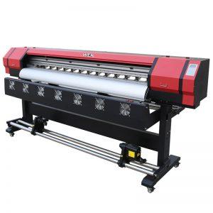 1,8 м екологичен разтворител цифров принтер двойна печатна глава DX5 WER-ES1901