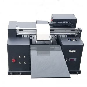 3D фланелка принтер машина за печат мобилен бизнес кожа WER-E1080UV