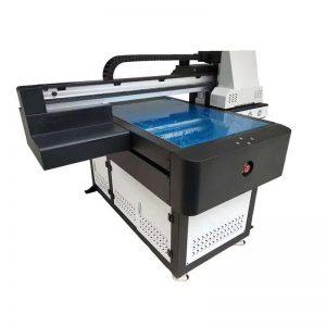 А1 ултравиолетов принтер Цифров 6090 плосък UV печат машина с 3D ефект / лакиране печат