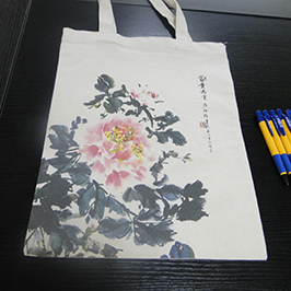 Извадка за отпечатване на торбичка с торба от A2 принтер WER-D4880T