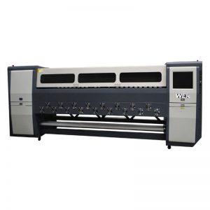 Добро качество на K3404I / K3408I разтворител принтер 3.4 м тежък работен мастилено-струен принтер