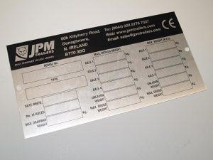 Решение за едноцветно метално печатане