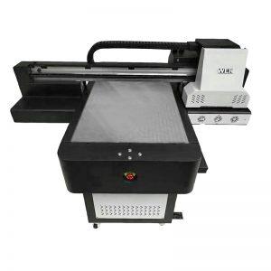 Малък размер висококачествен калъф за телефон с плосък UV принтер WER-ED6090UV