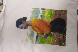 T ризи за извадка за клиент от Бирма от принтер WER-EP6090T