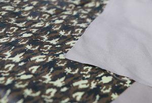 Текстилна печатна хартия 1 чрез цифрова машина за печат на текстил WER-EP7880T