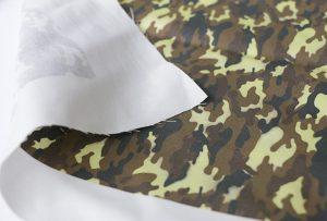 Текстилна печатна хартия 3 чрез цифрова машина за печат на текстил WER-EP7880T