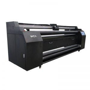 WER-E1802T 1.8 м директно към текстилен принтер с 2 * DX5 принтер за сублимация