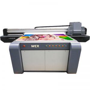 цифрова акрилна печатна машина UV плосък принтер WER-EF1310UV