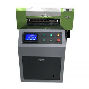 директно към облекло цифрови текстилни платове тъкан печат машина Тениска UV принтер WER-ED6090T