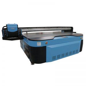 висококачествен UV плосък принтер за стена / керамични плочки / снимки / акрил / дърво печат WER-G2513UV