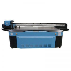 многоцветен 3D LED принтер печат UV плосък принтер цена за продажба WER-G2513UV
