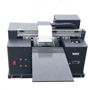 печат на бяло и цветно мастило едновременно с бърз настолен цифров градиент директно към дрехата DTG тениска машина за печатане на принтер WER-E1080T